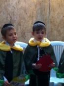 Вечеринка в Хедере по случаю праздника Суккот