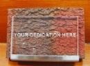 Dedication Brick
