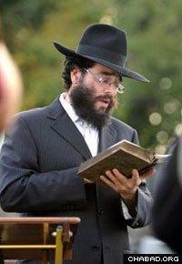 Rabbi Schneur Wilhelm directs Chabad-Lubavitch of Milford.