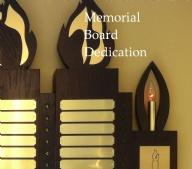 Memorial Board Dedication