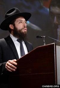 Rabbi Eliyohu Rosenfeld, from Lisboa, Portugal