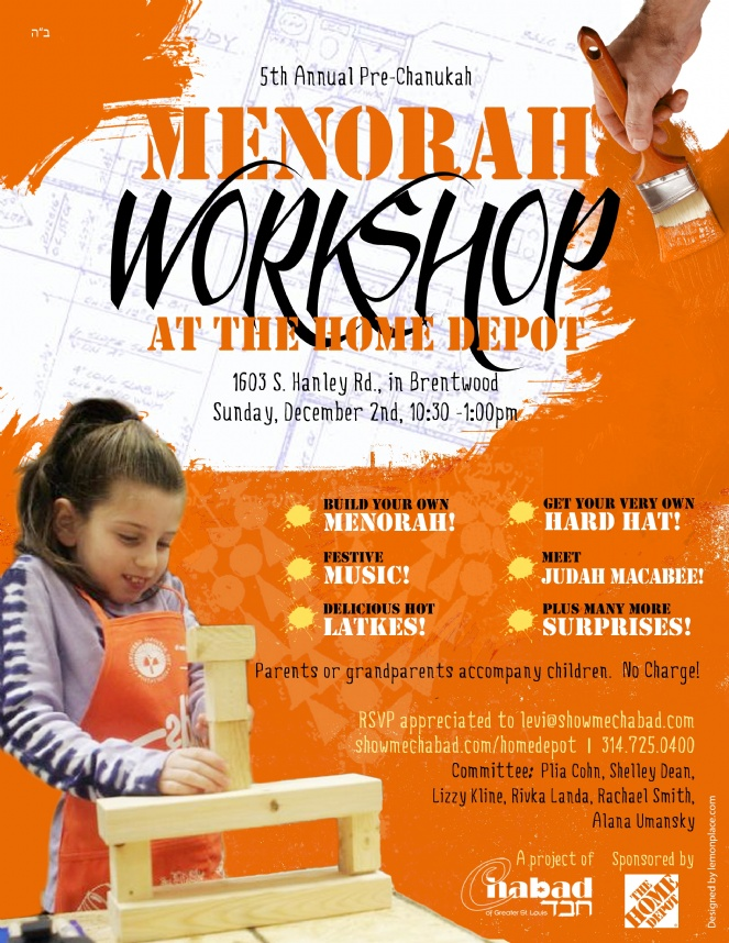 Menorah Workshop 2012