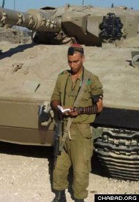 Yosef Partok, who was killed in a rocket attack on Tuesday
