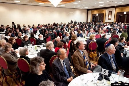 More than 300 guests gathered in Skokie, Il., for the Chag HaSemicha, ordination festival,