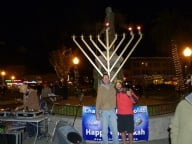 Public Menorah Lighting 2012