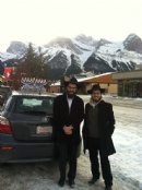 1st Time in Alberta - Winter Roving Rabbis - Chanukah 5773