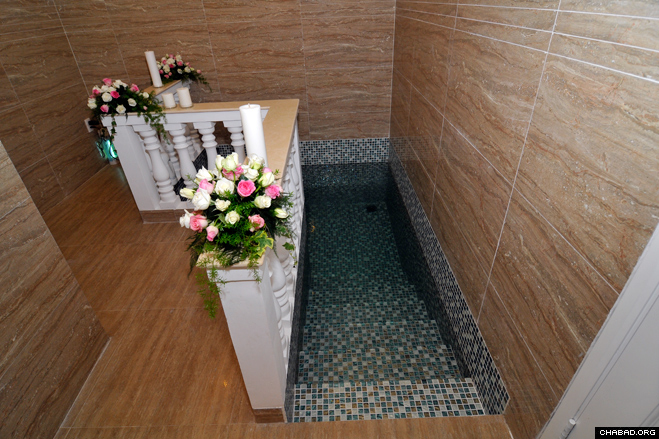 The first mikvah in Vietnam.