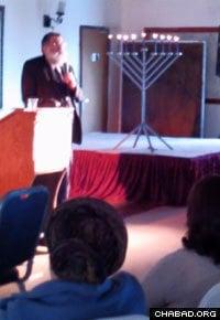 Rabbi Yisroel Haber talks about his experiences as a U.S. Army chaplain in Alaska.