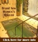 Mikvah Inauguration Program