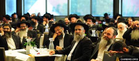 Chabad-Lubavith leaders in Israel gathered for their annual convention.