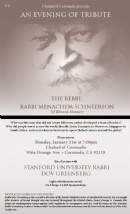 Tribute to the Rebbe