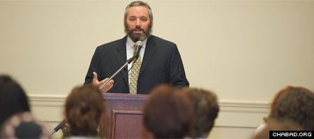 Rabbi Lazer Gurkow lectures across the globe and on Jewish.tv, the multimedia portal of Chabad.org; writes a column on the weekly Torah reading; and serves as the Chabad-Lubavitch emissary in London, Ontario