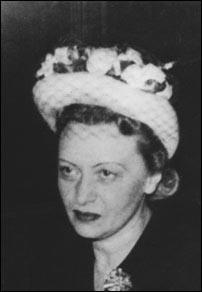 Rebbetzin Chaya Mushka Schneerson, of righteous memory, late 1950s