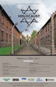 Holocaust Awareness Week