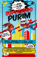 2/24 A SUPERHERO PURIM