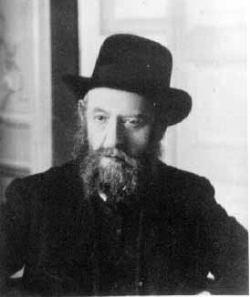 Rabbi Chalom Dov Ber Schneerson (1860-1920), le ''Rabbi Rachab''