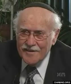 Rabbi Herschel (Tzvi) Schacter. (Photo: Jewish Educational Media)