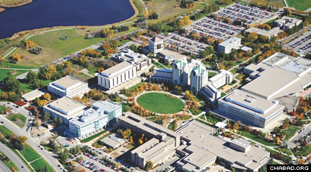 The growing Jewish student population at University of Regina, above, coupled with favorable financial conditions, means that the area is ripe for a full-time Chabad center.