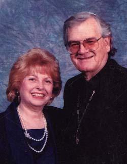 Artist Michel and his wife Josepha Schwartz