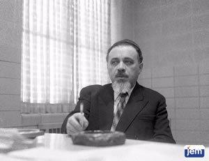Rabbi Moses Rosen, Chief Rabbi of Romania