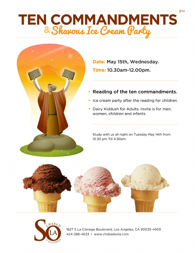 Shavuos 2013 - 10 commandments icecream.jpg