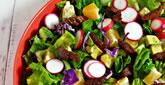 Romaine Pepper Steak Salad