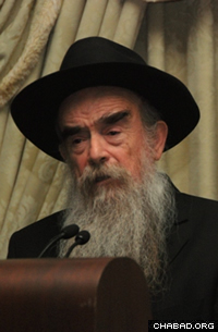 Rabbi Abraham Shemtov was the leading speaker at events in Florida and Pennsylvania.