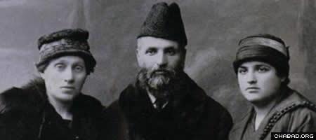 Ruchama, Levi and Shifra Lagovier.