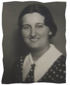 My grandmother in Austria before fleeing with her family.