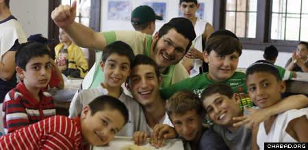 L'man Achai's eight-week summer program offers an array of sports and recreational activities, along with daily Hebrew lessons and a host of Jewish programming.