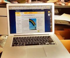 My mac fulfilling its purpose
