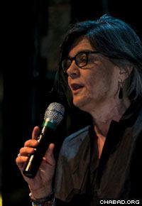 Ada Lucia De Cesaris, deputy mayor of Milan, addressed the crowd.