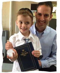 Elishama, his father and his new siddur