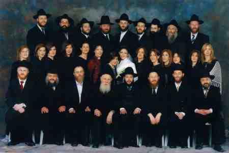 תמונה משפחתית של משפחת גרינברג