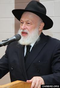 Rabbi Yehuda Krinsky (Photo: Bentzi Sasson)