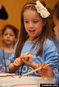 There were full days of fun and learning for the emmissaries' children (Photo: Bentzi Sasson for Chabad.edu)