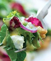 Goat Cheese Walnut Salad