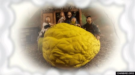 """""""The Esrog,"""" tells the story of destitute Dovid's quest to purchase the most expensive esrog for Sukkot by saving a coin every day for a year selling vegetables from his garden."""