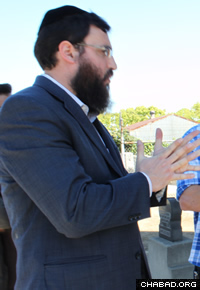 Rabbi Moshe Greenwald, director of Chabad of Downtown Los Angeles, said he cried the first time he witnessed the conditions at the cemetery.
