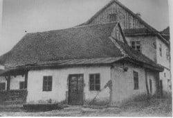 The Baal Shem Tov's synagogue.
