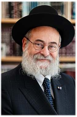 Rabbi Binyomin Jacobs, head shliach to Holland and Chief Rabbi of the Interprovincial Chief Rabbinate for the Netherlands.