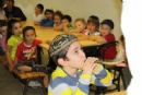 Shofar Factory à l'école et au Gan Habad
