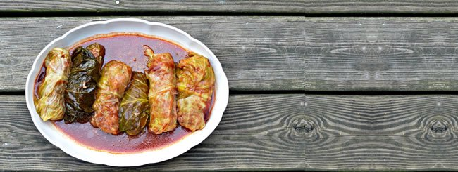 Meat: Stuffed Cabbage