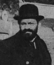 Menachem Mendel Beilis, falsely accused of ritual murder.