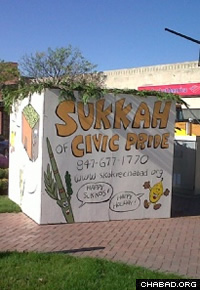 Painted sukkahs have been a feature in Skokie, Ill., since the 1980s.
