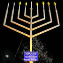 Giant Menorah Lighting