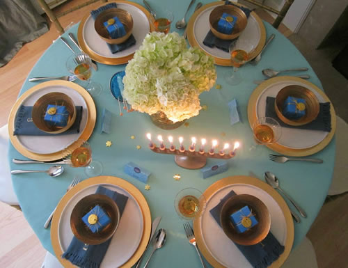Throw A Beautiful Chanukah Party Home Decor Amp Crafting
