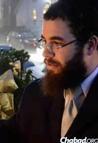 Rabbi Kushi Schusterman of Chabad of Harford County, Md.