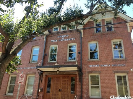 The Alice Bender Chabad House and Berger Family Building, the new home of Chabad on Campus at Yale.