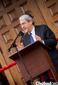 Yale University President Peter Salovey presided over the event. (Photo: Studio99Productions.com)